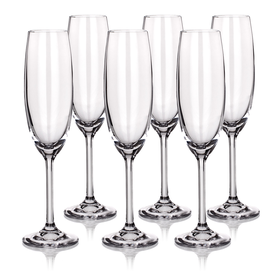Poháre BANQUET šampaň. flauta 220 ml 02B4G001220 O
