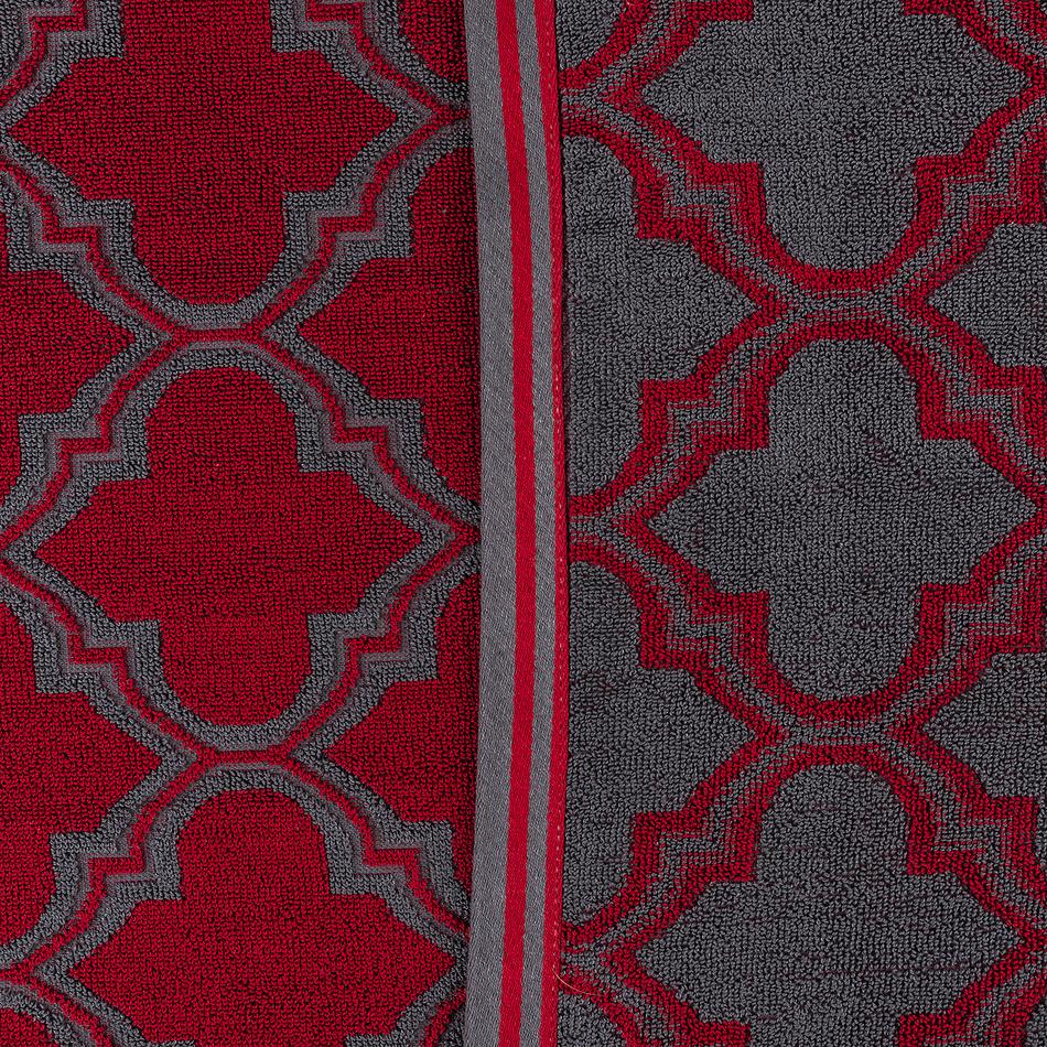 Produktové foto JAHU Osuška Castle červená, 70 x 140 cm
