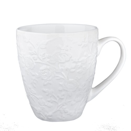 Kubek ceramiczny Kwiat 530 ml