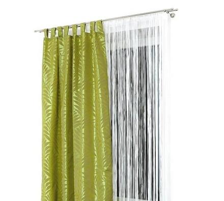 Závěsy PALME zelená, 140 x 250 cm