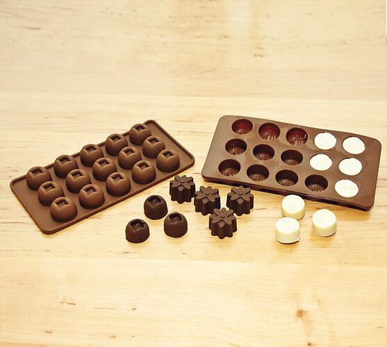 Silkonová forma na čokoládu