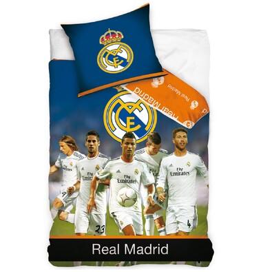 Bavlněné povlečení Real Madrid - Team, 140 x 200 cm, 70 x 80 cm
