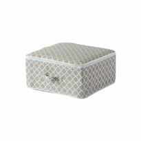 Compactor Textilní úložný box Madison, 46 x 46 x 20,5 cm