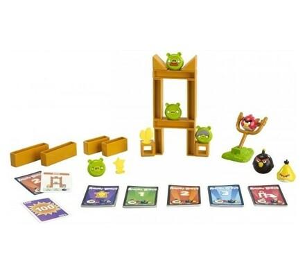 Hra Angry Birds Mattel, vícebarevná