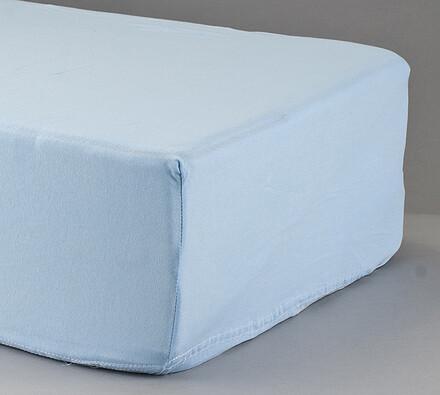 Prostěradlo s lycrou 4Home, světle modrá, 90 x 200 cm