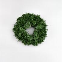 Zöld műkoszorú, 20 cm