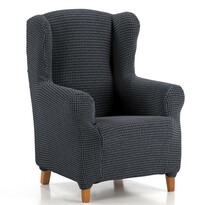 """Pokrowiec multielastyczny na fotel """"uszak"""" Sada niebieski, 70 - 110 cm"""
