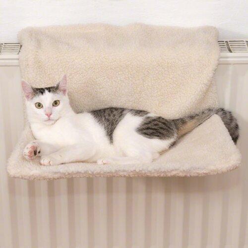 Závesné odpočívadlo na kúrenie pre mačky Relax, 43 x 30 x 25 cm