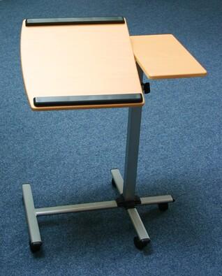 Pojízdný polohovací stolek