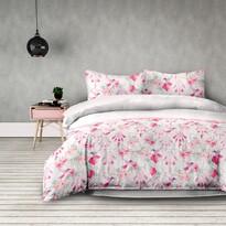 AmeliaHome Pościel flanelowa Sweet Dreams, 200 x 220 cm, 2 szt. 70 x 90 cm