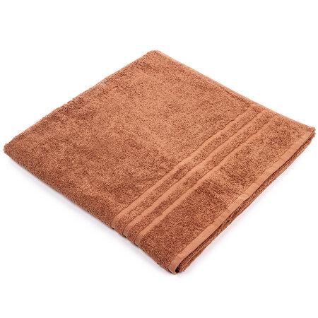 Exclusive Comfort XL törölköző, barna, 100 x 200 cm