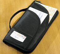 Cestovní pouzdro na doklady