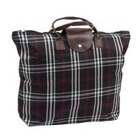 Kostka összecsukható táska, fekete