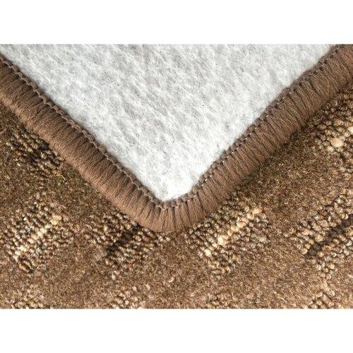 Kusový koberec Valencia hnedá, 140 x 200 cm