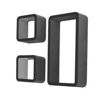 Police Trix, fekete, 3 db-os készlet