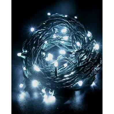 Vánoční světelný řetěz Solight, bílý, 120 LED