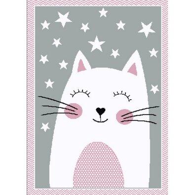 Kusový dětský koberec Kiddo 0132 pink, 80 x 150 cm
