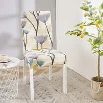 Husă multielastică scaun 4Home Nature, 45 - 50 cm, set 2 buc.