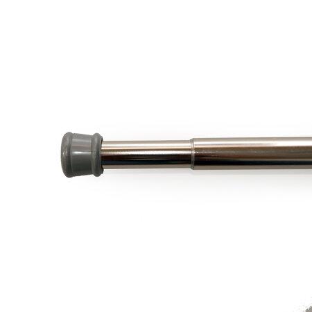 Rozperná tyč nikel strieborná, 125 - 225 cm