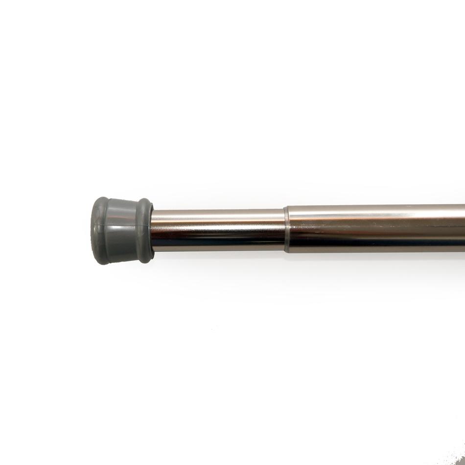 Gardinia Rozperná tyč nikel strieborná, 125 - 220 cm