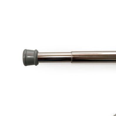 Rozpěrná tyč nikl stříbrná, 80 - 130 cm