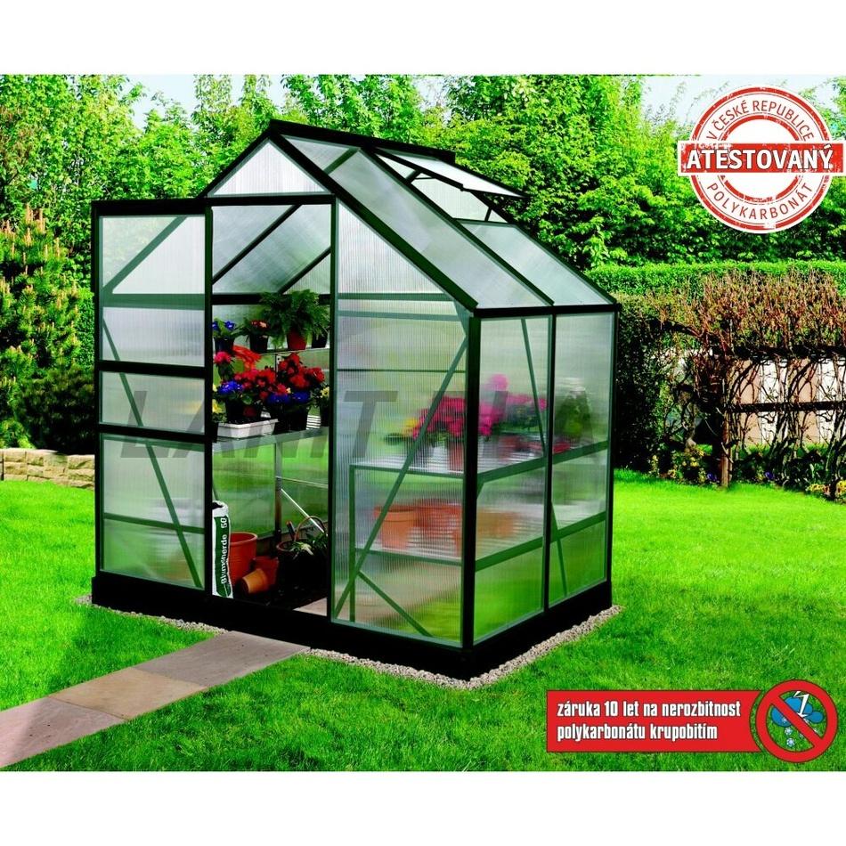 LANIT PLAST - skleník Lanit Plast VENUS 2500 zelený + základňa ZADARMO