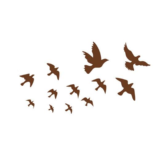Samolepiaca dekorácia vtáci
