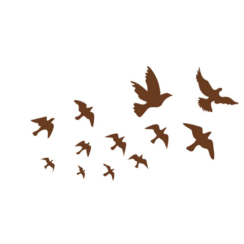 Samolepicí dekorace ptácí