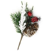 Gałązka świąteczna Elda, 16 cm