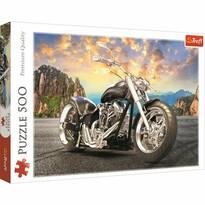 Trefl Puzzle Čierna motorka, 500 dielikov