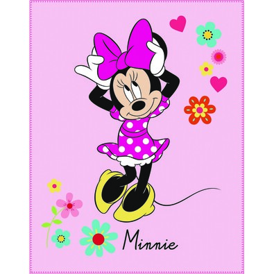 Detská deka Minnie Mouse Liberty, 110 x 140 cm