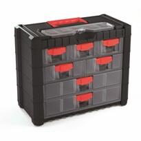 Závesný box na skrutky Cargo, 7 priehradiek