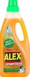 Alex mýdlový čistič parkety a dřevo 750 ml