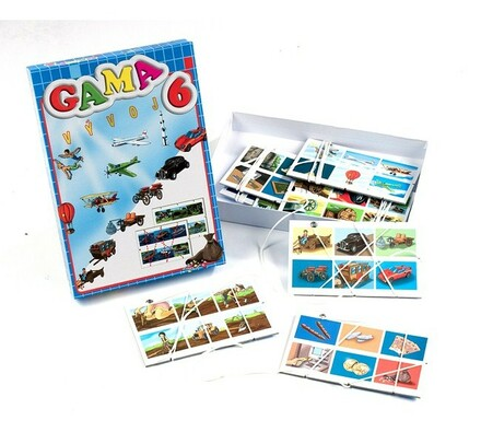Didaktická hra Gama 6, vícebarevná