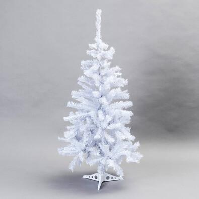 Vánoční stromeček smrk aljaška 120 cm bílá