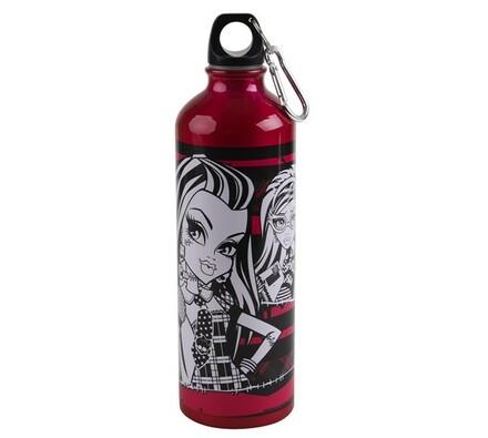 Hliníková láhev 750 ml, Monster High