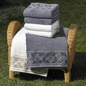4Home ručník Ottoman šedá, 50 x 90 cm, sada 2 ks