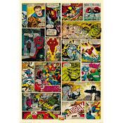 Fototapeta komiks Marvel 158 x 232 cm