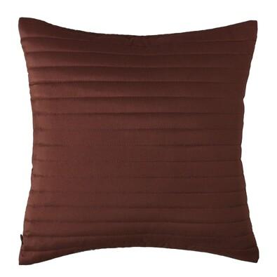 Povlak na polštářek Mondo tmavě hnědá, 40 x 40 cm, sada 2 ks