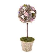 Umelá kvetina v kvetináči Leerdam, 28 cm