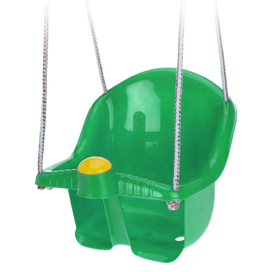 Detská záhradná hojdačka Sway, zelená
