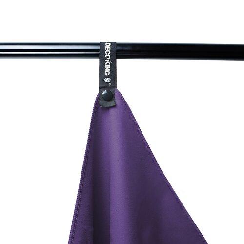 DecoKing Fitness Uterák Ekea fialová, 40 x 80 cm