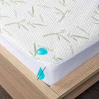4home Bamboo Nepriepustný chránič matraca s lemom