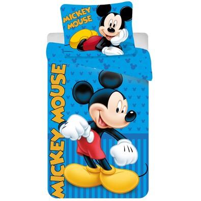 Dětské bavlněné povlečení Mickey blue 2016, 140 x 200 cm, 70 x 90 cm