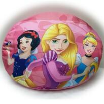 Tvarovaný polštářek Princess, 34 x 30 cm