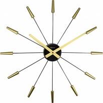 Nextime Plug Inn Gold 2610go nástěnné hodiny  , pr. 60 cm