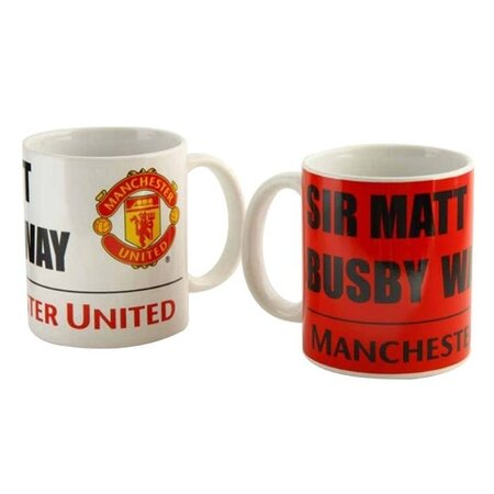 FC Manchester United Keramické hrnčeky 350 ml, 2 ks