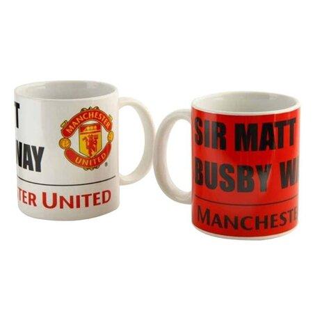 FC Manchester United Keramické hrnky 350 ml, 2 ks
