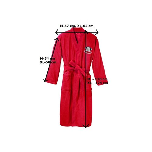 Szlafrok Paul Frank Premium Red, M