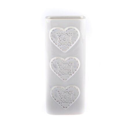 Umidificator ceramic de aer Fulg, alb